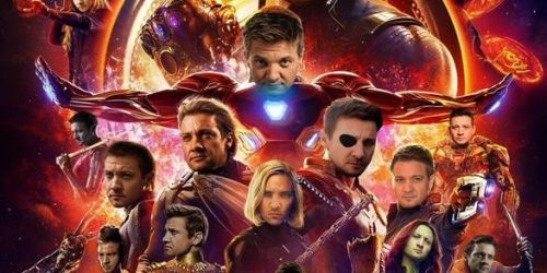 Avengers: Infinity War Fan Art Improves Hawkeye-less Poster