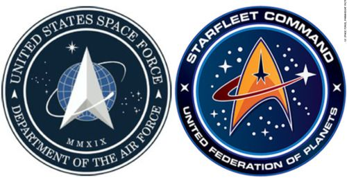 Trump's Space Force Logo Looks a Lot Like the Star Trek