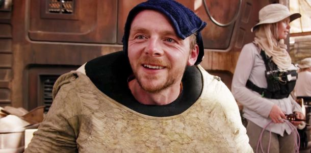 Simon Pegg Says New Star Wars Is 'Missing' George Lucas