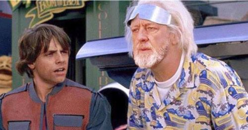 Amazing Empire Strikes Back to the Future Mashup Shared by Mark