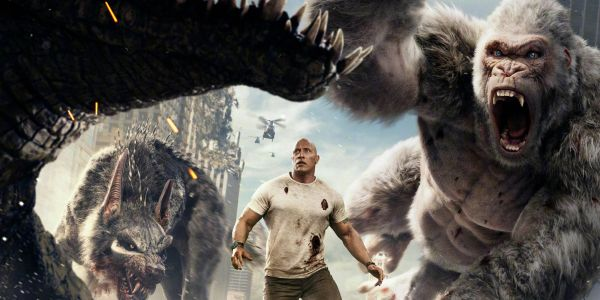 Rampage Review: The Rock's Monster Mash is Big Dumb Fun