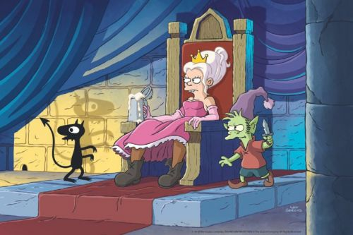 Netflix Debuts Official Trailer For 'Simpsons' Creator's New Series 'Disenchantment'
