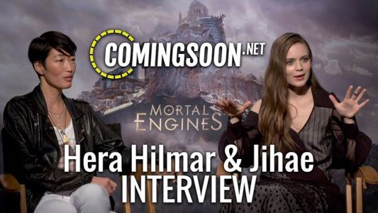 CS Video: Hera Hilmar and Jihae Talk Mortal Engines