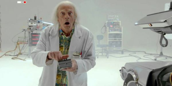 Doc Brown Saves The World Isn't Back To The Future 4