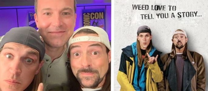 How Kevin Smith and Ben Affleck Wonderfully Reunited for 'Jay and Silent Bob Reboot'