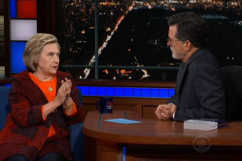 "Hillary Clinton Scolds Republicans For ""Trying To Rush"" Kavanaugh Election On 'Late Show with Stephen Colbert'"