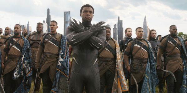 Black Panther's Chadwick Boseman Never Stops Getting Asked To Do The Wakanda Salute