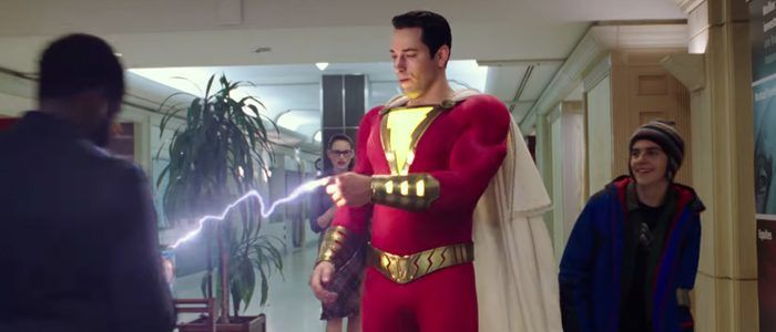 'Shazam!' Trailer: Zachary Levi is a Kid in a Big Superhero Body