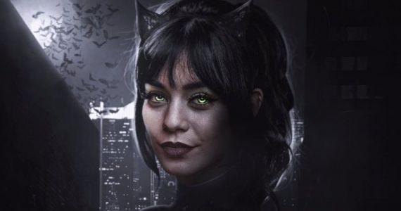 The Batman Fan Art Turns Vanessa Hudgens Into One Killer Catwoman