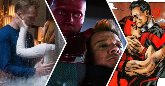 The Avengers: 20 Crazy Secrets About Scarlet Witch And Vision's Relationship