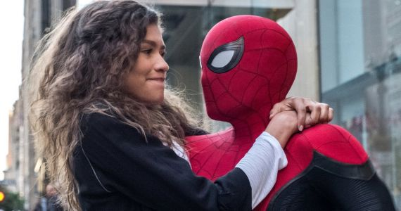 Zendaya Goes Full Mary Jane While Promoting Spider: Man: Far from Home