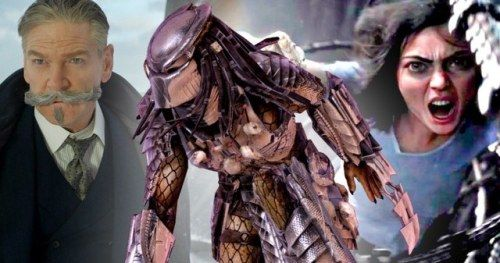 Fox Gives Predator, Alita, and Death on the Nile New Release