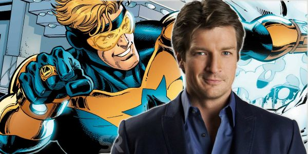 Exclusive: Nathan Fillion's Thoughts on Playing Booster Gold