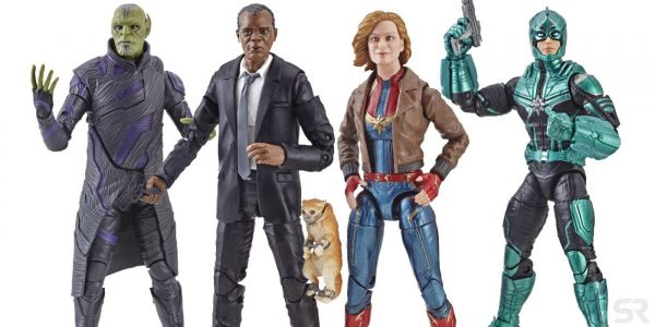 Exclusive: Check Out Hasbro's Awesome Captain Marvel Movie Toys!