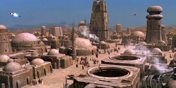 Star Wars: The Coolest Location From Every Movie | ScreenRant