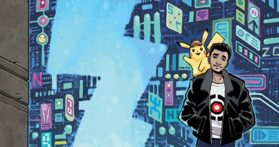 'Detective Pikachu' is Getting an Official Graphic Novel Adaptation