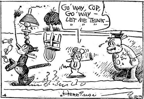 George Herriman's Krazy Kat, Praised as the Greatest Comic Strip of All Time, Gets Digitized as Early Installments Enter the Public Domain