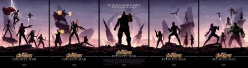 Cool Stuff: These Matt Ferguson 'Infinity War' Posters Will Make You Want to See the Movie in Theaters 5 Times