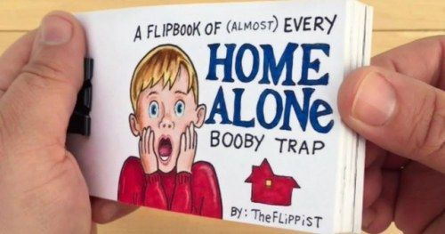 Home Alone Flipbook Video Unrelentingly Delivers Every Booby