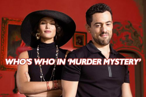 Who's Who in the 'Murder Mystery' Cast?