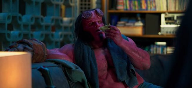'Hellboy' Clip Invites Hellboy to The Osiris Club to Face a Giant Problem