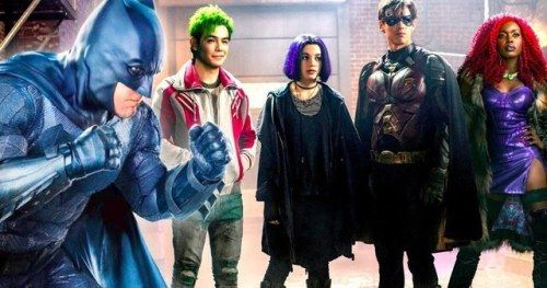 Is That Ben Affleck's Batman in the New Titans