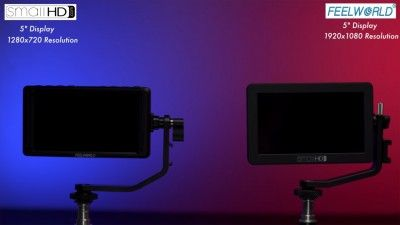 Watch How The Feelworld F5 Compares to The SmallHD Focus Monitor