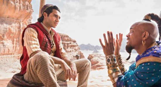 'Aladdin' Images Show Us a Whole New World of Will Smith Topknots and Vests