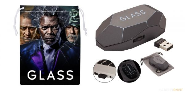 GIVEAWAY: Win A Signed M. Night Shyamalan Glass Prize Bundle!