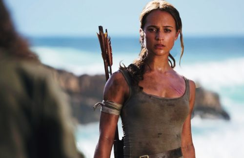 That Moment In 'Tomb Raider' When Lara Makes Her Escape