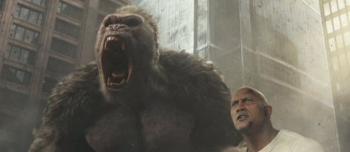 'Rampage' Trailer: Dwayne Johnson Brings Big Arms and Big Monsters to the Big Screen
