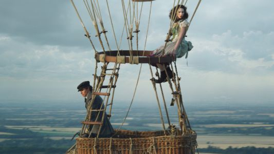 First Look At Eddie Redmayne and Felicity Jones in The Aeronauts