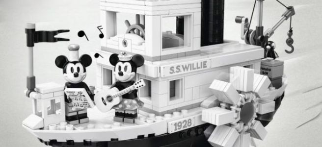 Cool Stuff: Disney's Classic 'Steamboat Willie' Mickey Mouse Short is Becoming a LEGO Set