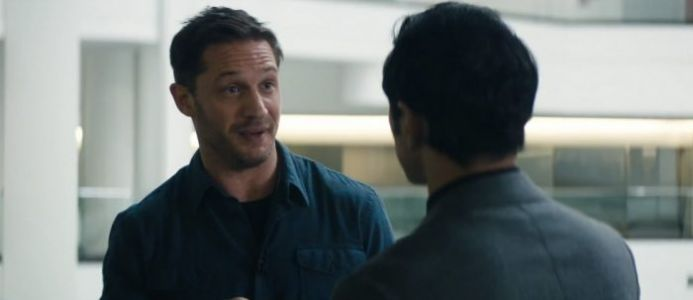 First 'Venom' Clip Is High on Journalism, Low on Tongue Action