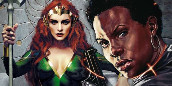 Aquaman & Suicide Squad's Top Women Are DC's New Power Couple