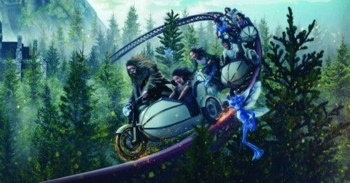 Hagrid's Magical Motorbike Ride Is Coming to the Wizarding