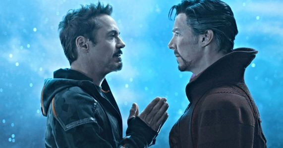 Endgame BTS Video Reveals Hilarious Cut Line Between Iron Man & Doctor Strange