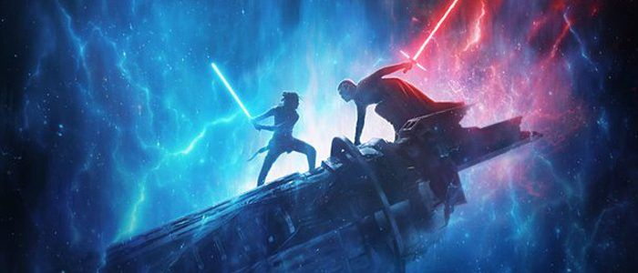 'Star Wars: The Rise of Skywalker' D23 Poster Features Rey and Kylo Ren Locked in Battle