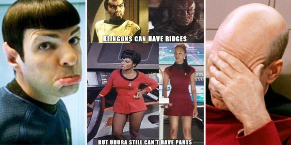 Star Trek: 17 Memes That Prove The Show Makes No Sense