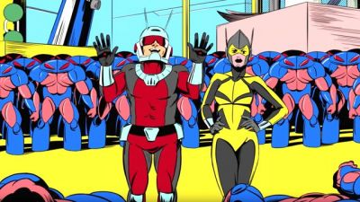 Watch the First Three Animated Ant-Man Shorts