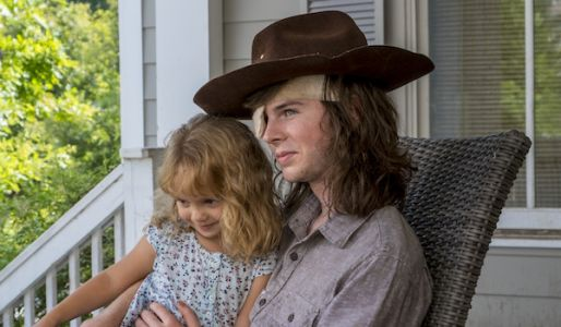 The Walking Dead Gets Emotional About Carl Giving His Hat To Judith In Exclusive Video