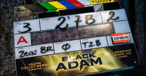Black Adam Begins Filming, The Rock Shares First Set Photo