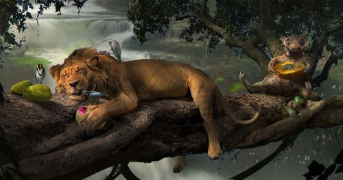 The Lion King Remake Concept Art Offers Alternative Takes &