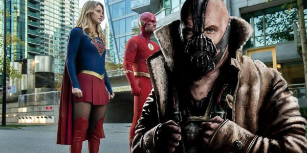 Elseworlds Crossover Photo Includes Dark Knight Rises Bane Easter Egg