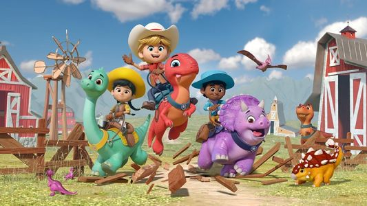 Exclusive Dino Ranch Clip From New Disney Junior Animated Series