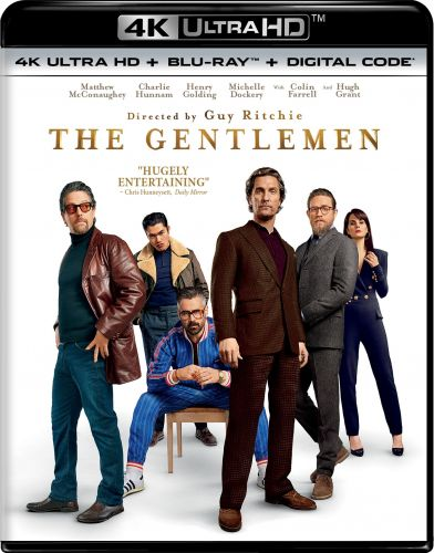 THE GENTLEMEN 4K Ultra HD & Blu-ray Release Date Announced; Special Features Include A Glossary of Cannabis
