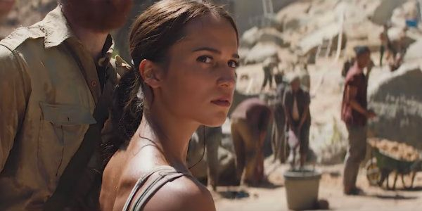 One Thing Lara Croft Won't Do In The New Tomb Raider Movie