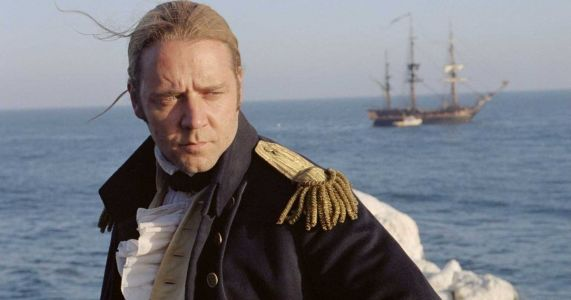 Russell Crowe Strikes Down Master and Commander Critic with Just One Tweet