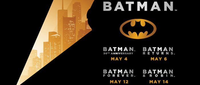 Four 'Batman' Movies Are Coming Back to Theaters This Summer
