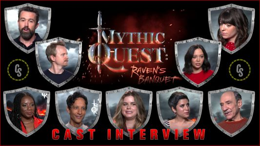 CS Video: Rob McElhenney & the Mythic Quest: Raven's Banquet Cast!
